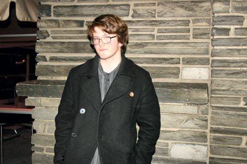 KLAR FOR OPPRØR: Mikkel Frostad, talsmann for RKU på Romerike.