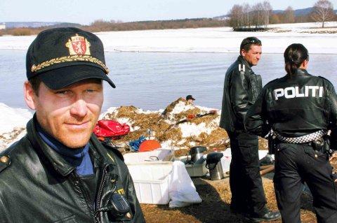 INNSATSLEDER: Trond Hagen er innsatleder i søket etter 8-åringen.