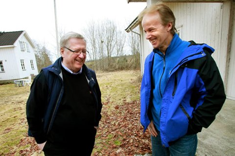 OPTIMIST: Per Orderud sier han har stor tro på at Tore Sandberg skal klare å få saken hans gjenopptatt. FOTO: ROAR GRØNSTAD