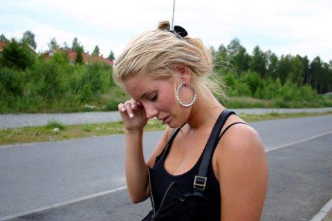 MANGE TÅRER: Christensen har felt mange tårer og har ikke klart å sove etter kidnappingen. FOTO: RUNE BERNHUS