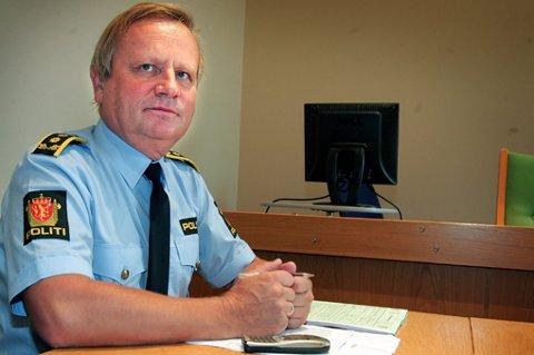 ETTERFORSKER: fungerende kriminalsjef Bjørn Arne Tronier i Romerike politidistrikt. FOTO: KAY STENSHJEMMET