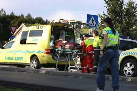 OMKOM: En mann i slutten av 50-årene døde i ulykken. FOTO: KAY STENSHJEMMET