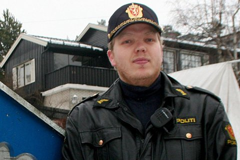 ETTERFORSKER: Politibetjent Wilhelm Bjølseth ved Lørenskog lensmannskontor etterforsket saket mot de to brødrene. FOTO: MARTHE DYPVIK JENSEN