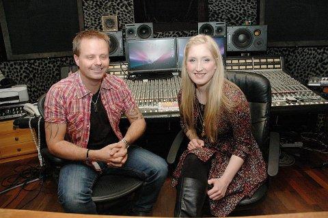 Godt samarbeid. Christel Alsos har også denne gangen samarbeidet med produsent Arvid Solvang. Foto: Rune Slyngstad