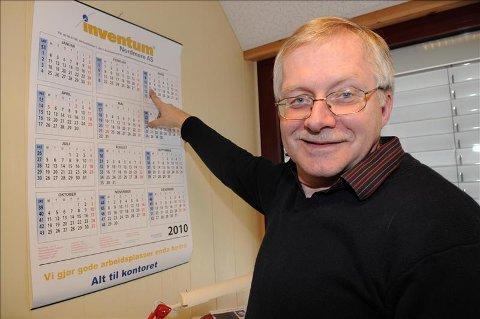Rolv Sæter har merket seg datoen 15. mars. Da står valet mellom nynorsk eller bokmål som framtidig hovudmål ved Batnfjord skule.
