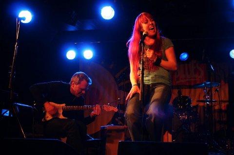 Til Notodden.  Tromsø-bandet Pristine vant NNM i blues og skal delta på Union Blues Cup på Notodden bluesfestival. Begge foto: Anita Jordanger