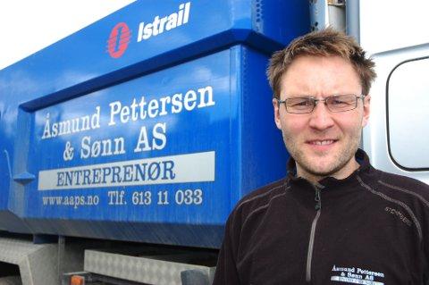 KONKRET: Tilsatt før streiken startet, Christian Bruun om nyansettelsene i firmaet.Arkivfoto: Haakon Kalvsjøhagen