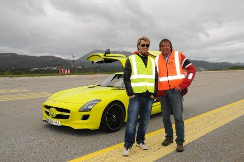 To miljøbevisste bilentusiaster, Magne Furuholmen og Svein Junge. Furuholmen til venstre.