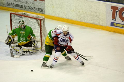 MØTER MANGLERUD STAR: I kveld spiller Lørenskog Ishockey Klubb mot Manglerud Star. FOTO: LISBETH ANDRESEN
