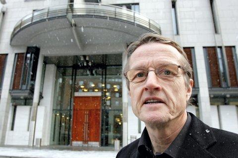 VISSTE: Tidligere generalsekretær Ivar Egeberg i Senterpartiet mener Terje Riis-Johansen visste at Fornybarprosjektet skulle gi partiet penger til valgkampen 2009. FOTO: MORGAN ANDERSEN