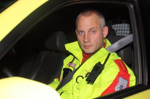 RYSTET: Operativ leder for ambulansetjenesten, André Tiller. FOTO: ESPEN BOLSTAD