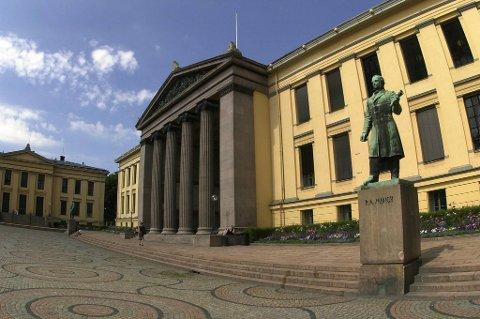 Universitetet i Oslo (UiO) klatrer på universitetsrangeringen til Times Higher Education.