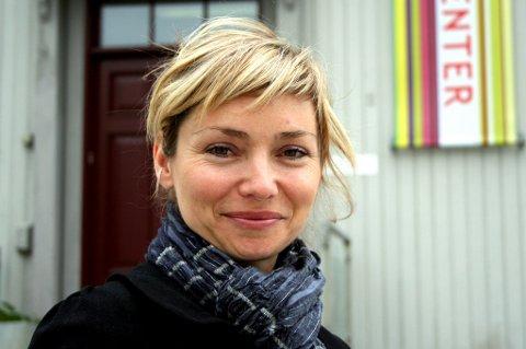 SKUFFET: Daglig leder ved Akershus kunstsenter, Rikke Kommisar.