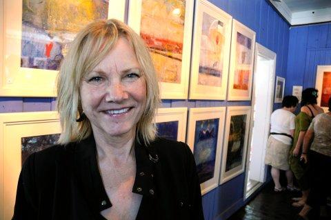 Rita Lindberg Pettersen var tilbake på Hamsungalleriet med en flunkende ny serie bilder, inspirert av Hamsuns roman Pan, og fikk svært gode tilbakemeldinger.