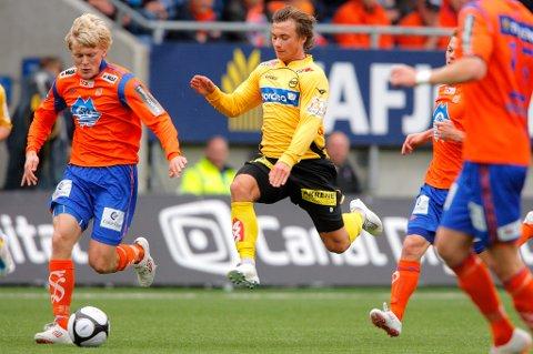 MAKKER: Bjørn Bergmann Sigurdarson ser for seg at han og Fredrik Gulbrandsen blir nye makkere.