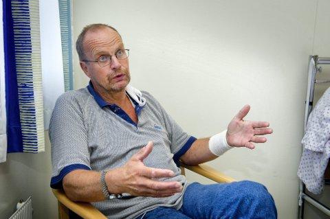 REAGERER: Knut Hageberg (Frp) vil at Fylkesmannen skal gripe inn slik at flere nordodølinger får tilbakebetalt fakturagebyret fra kommunen.