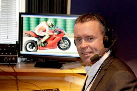 MOTOGP: Stein Rømmerud fra Eidsvoll kommenterer verdensmesterskapet i roadracing, MotoGP på Viasat Motor.
