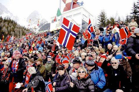 Det er mange som vil se Ole Einar Bjørndalen og Co. i aksjon under mesterskapet i Tyskland i månedsskiftet februar-mars.