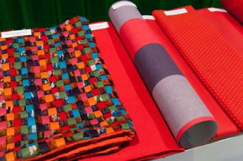 Trendvisningen på Europas største messe for tekstil og tapet kan  oppsummeres med ett ord: FARGER!