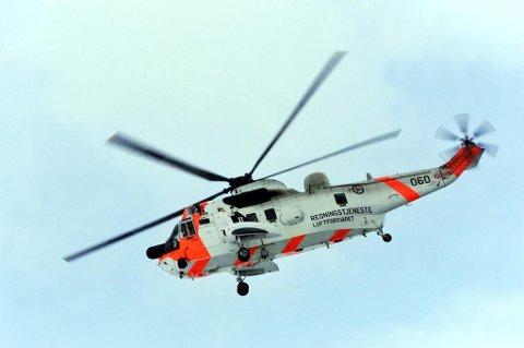 En uheldig ATV-fører ble onsdag kveld fløyet til sykehus med redningshelikopteret fra Banak.
