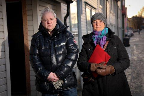 STØTTEGRUPPE: Helge Hoel og Eva Gran vil ha hele Tromsø, ja, gjerne hele landet, med seg på en folkeaksjon for barns rettigheter.