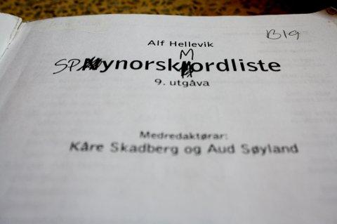DELTE MENINGER: I følge nynorskboka til elever på Lillestrøm vgs er det tydelig delte meninger om hvorvidt nynorsk er nyttig eller ikke.