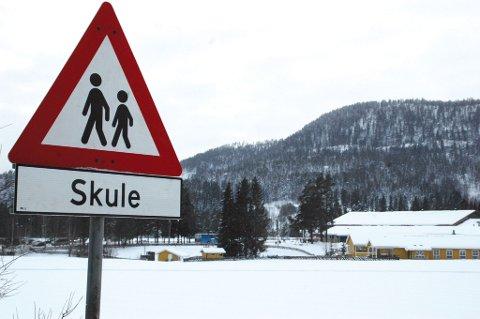 Det står fortsatt skule ? og ikke skole ? som undertekst på skiltene ved Nerstad og Eggedal skoler. Teksten skal nå endres, hvis ikke kommunen uttrykker et ønske om å bruke skule.