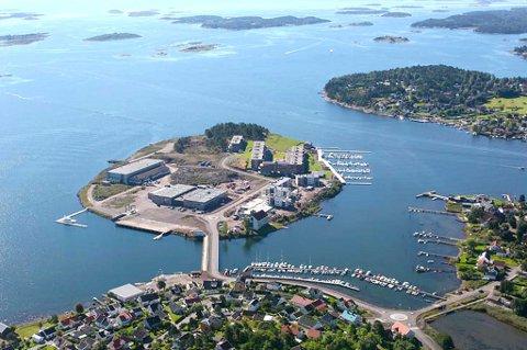 Jarlsø er blitt et populært sted å bo, og utbyggingen fortsetter. Det som skjer der ute, synes godt fra øyene.