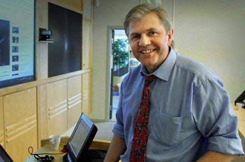 Roar Sollied, leder i Troms Venstre