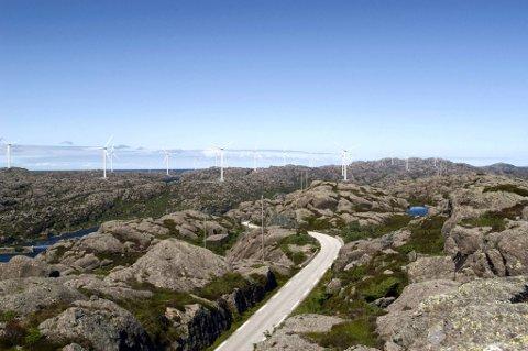 Natur og Ungdom er positive til denne planlagde vindmølleparken i Ytre Sula, men seier nei til ein annan park som er planlagt i Ulvegreina.