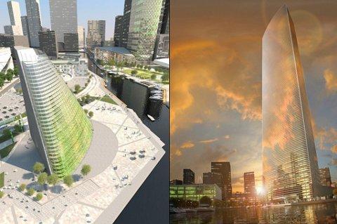Plantagon spesialiserer seg i å lage vertikale drivhus som er designet for å bli integrert inn i nye bygninger.