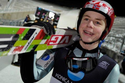 Mats Berggaard ble norgesmester fredag kveld.