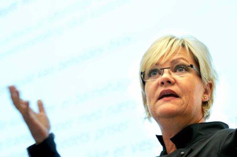 Kristin Halvorsen (SV).
