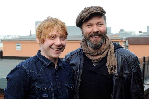 """Rupert Grint og  Stig Henrik Hoff spiller sammen i filmen """"Into the White""""."""