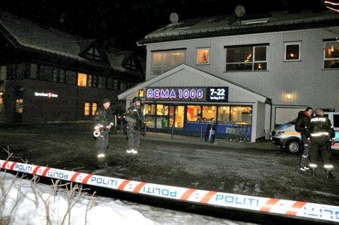 ETT ÅR: Om 10 dager er det ett år siden Rema 1000 på Brandbu ble ranet.ARKIVFOTO: HELGE RØNNING BIRKELUND