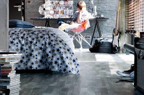 Slik kan ungdomsrommet se ut når du legger jeansen på golvet.