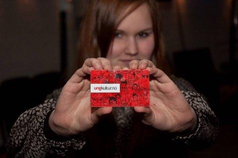 Martine Moe Sandnes er en av personene du kan finne kulturkortet hos.