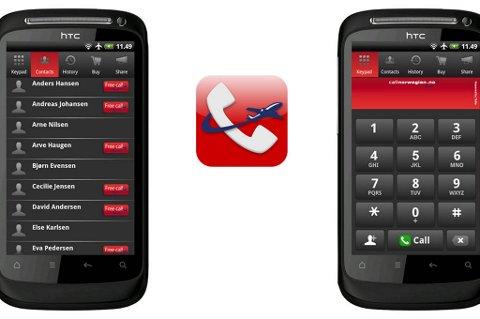 Nå kan du bruke mobilen på Android.