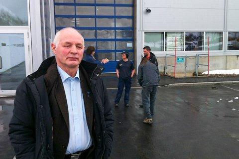 Ordfører Per Swensen hadde en tung dag da han onsdag morgen besøkte Rec Mono.