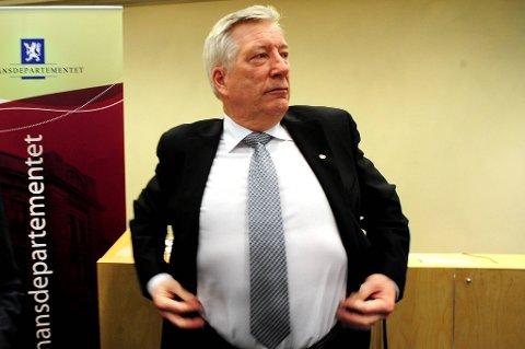 Sigbjørn Johnsen vil at Oljefondet blir stor i verden.