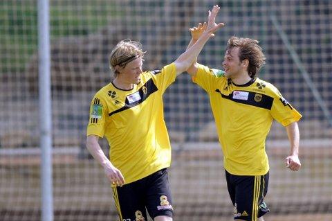 """Det blir neppe mye """"high fives"""" for Andreas Aalbu og Magnus Ask Mikkelsen i år. Vi tipper nykommerne fra Bærum på sisteplass."""