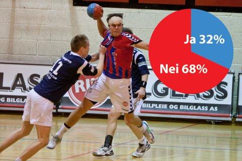 68 prosent av ØPs lesere tror ikke at Gjermund Dale og resten av Fram Larvik berger plassen i 1. divisjon. (Arkivfoto: Peder Torp Mathisen)