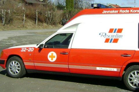 """Mannen reiste rundt og brukte denne ambulansen til å legitimere sin egen """"innsamlingsaksjon."""""""