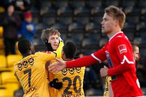 Vegard Båtnes Braaten scoret for Bodø/Glimt mot tidligere lagkamerater i Alta.