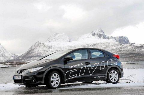 Honda Civic er ny fra front til hekk.