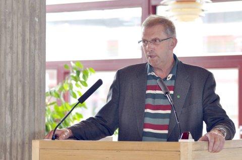 Johan Petter Røssvoll har jobbet for parkeringsløsning. Nå er den klar.