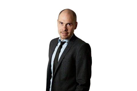 ROMLING?: Sjefredaktør i Nordlys Anders Opdahl.