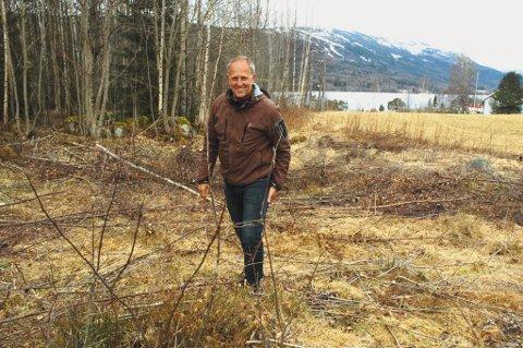 ? Dette er det behov for. Her blir det utsikt til fjord og fjell, et steinkast fra sentrum, forteller ordfører Olav Skinnes om boligene som skal kunne stå ferdige i Noresund om et års tid.