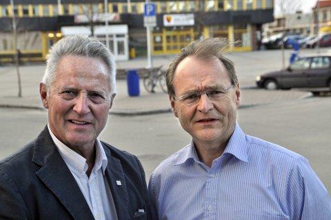 TIL USA: Blant de 16 delegatene fra Helse Nord, er  Lars H. Vorland (til høyre, administrerende direktør i Helse Nord) og Hans Petter Fundingsrud (administerende direktør i Helse  Finnmark).