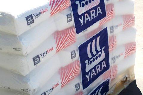 Gode tall for Yara.